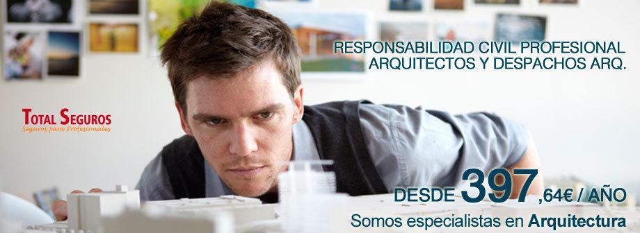 Seguros Responsabilidad Civil Profesional Arquitectos